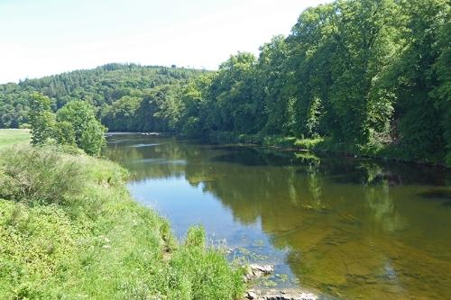 river Annan at Hoddom