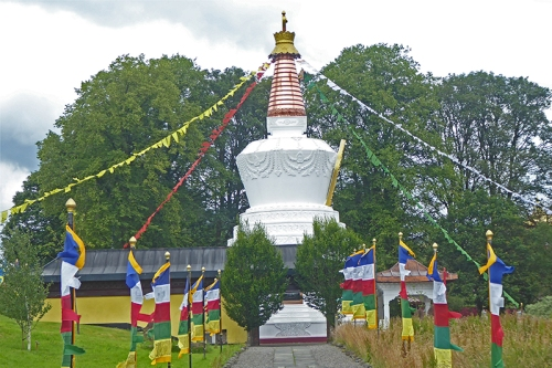 Stupa at Samye Ling