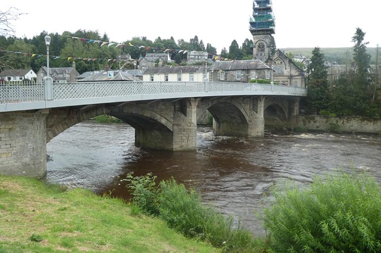 three arches Langholm Bridge