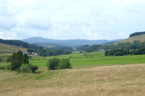 views upper esk valley