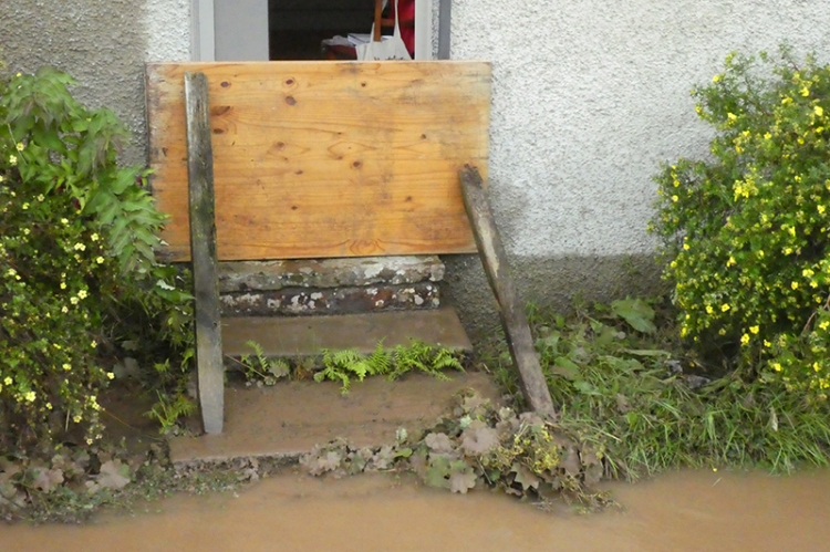 back door protection flood
