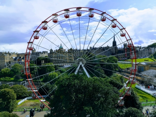 big wheel Edinburgh