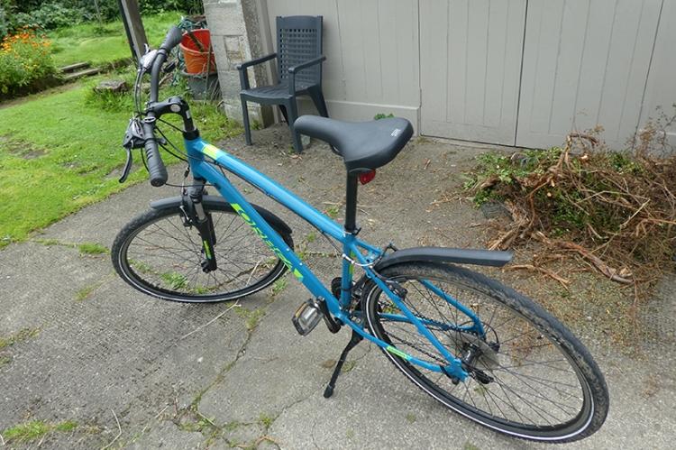 borrowed bike