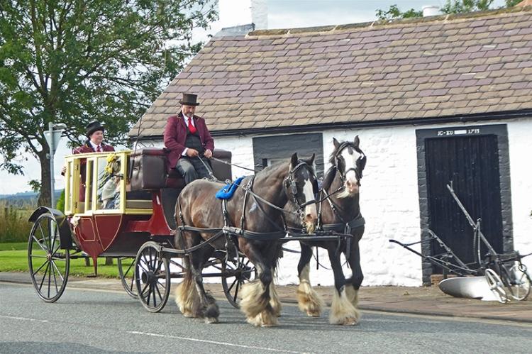 Carriage at Gretna