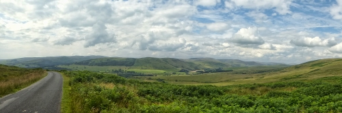 ewes valley panorama