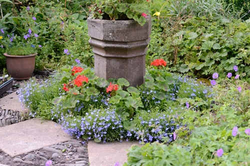 old chimney pot