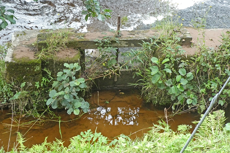 old dam gate
