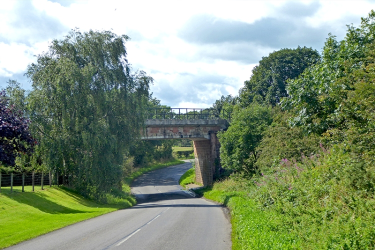 railway bridge near powfoot