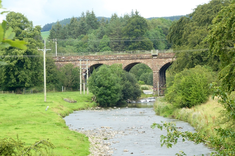 railway brodge over dryfe water