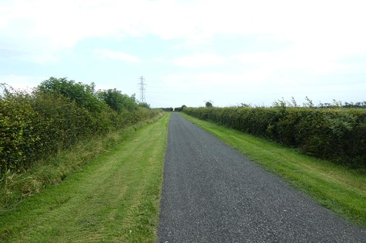 road near corries mill