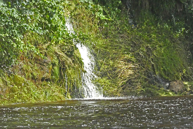 waterfall at canonbie