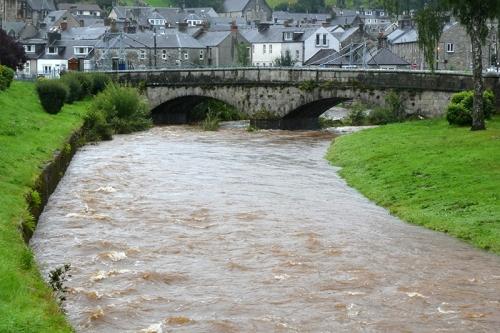 Wauchope in flood pm