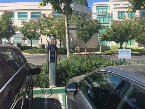 Apple EV charging
