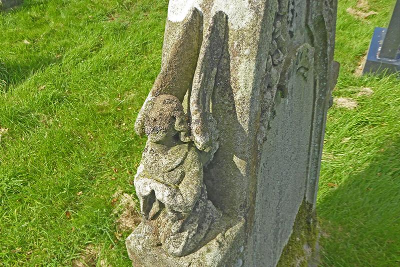 Arthuret Church carving