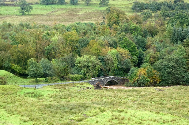 auld stane brig early autumn