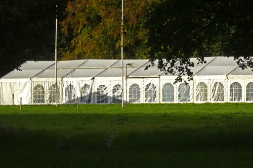 Cattle show tent