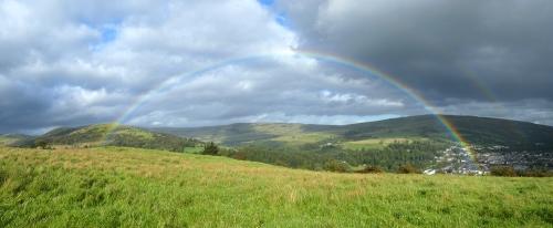 meikleholm rainbow panorama