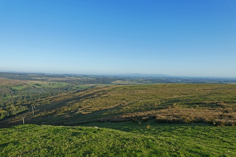 solway plain from warbla