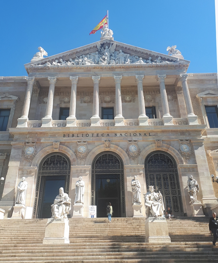 Spanish library
