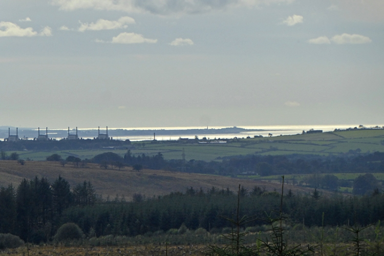 view of skinburness from callister