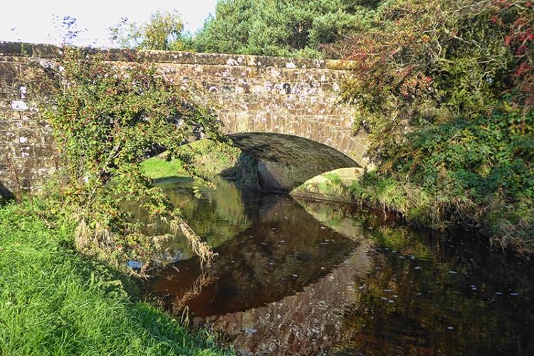 bridge over burn near gretna