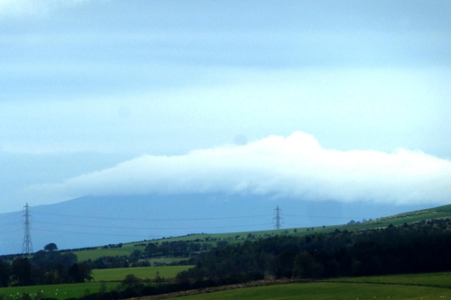 criffel in cloud