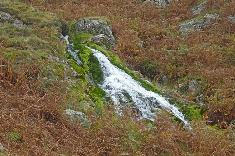 Crummock Water cascade