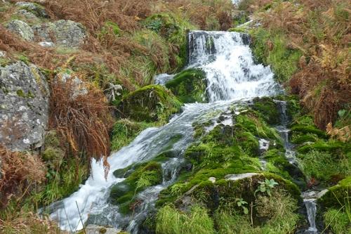 Crummock Water waterfall