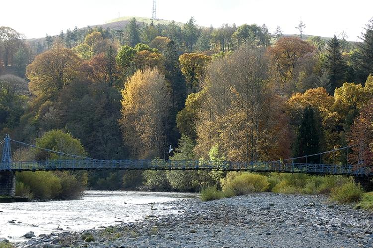 from under town bridge