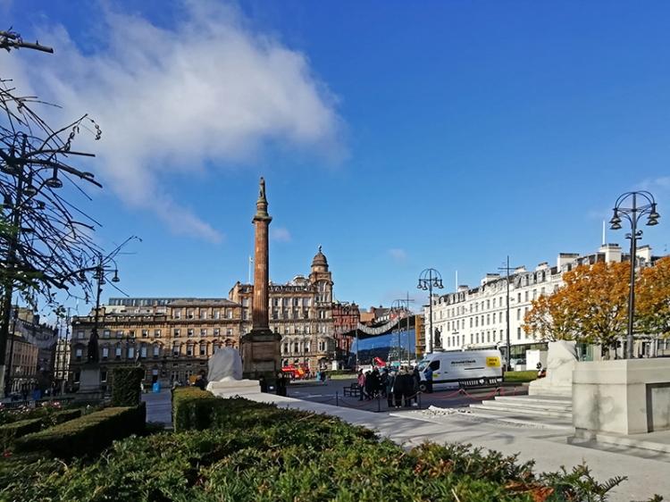 Glasgow george square 1