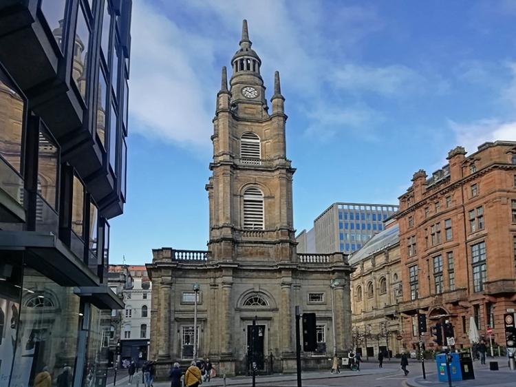 Glasgow george square 4