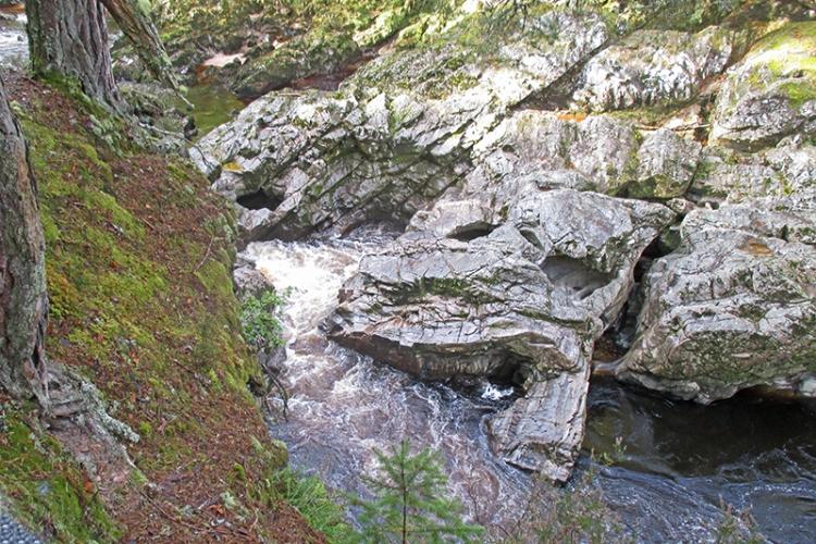 Highland gorge