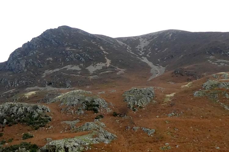 hills behindCrummock Water
