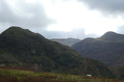 looking towards Buttermere