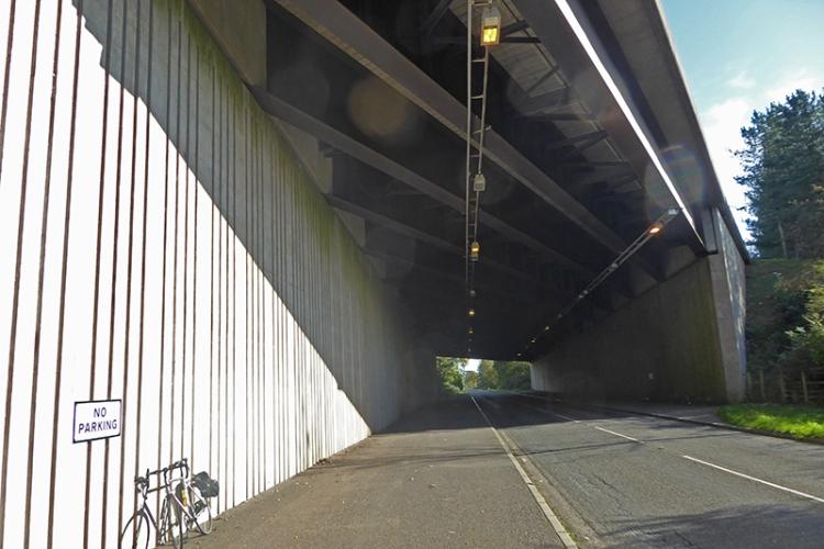 motorway bridge KPF