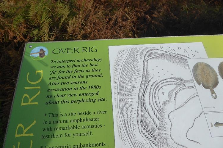 prehistoric trail board