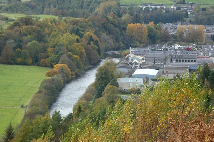 river esk from whita