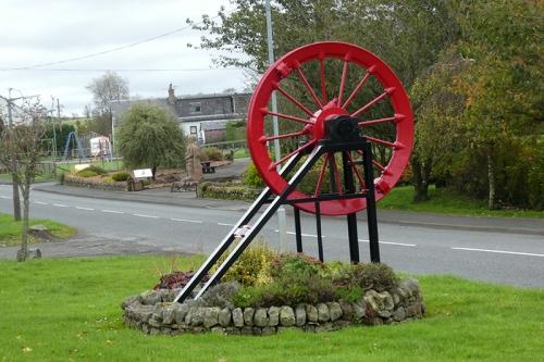 Rowanburn monument