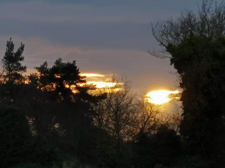 east wemyss sunset