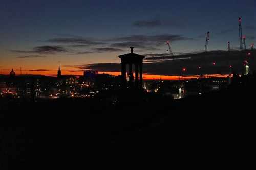 edinburgh night