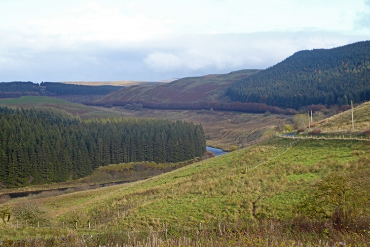 esk valley from bailliehill