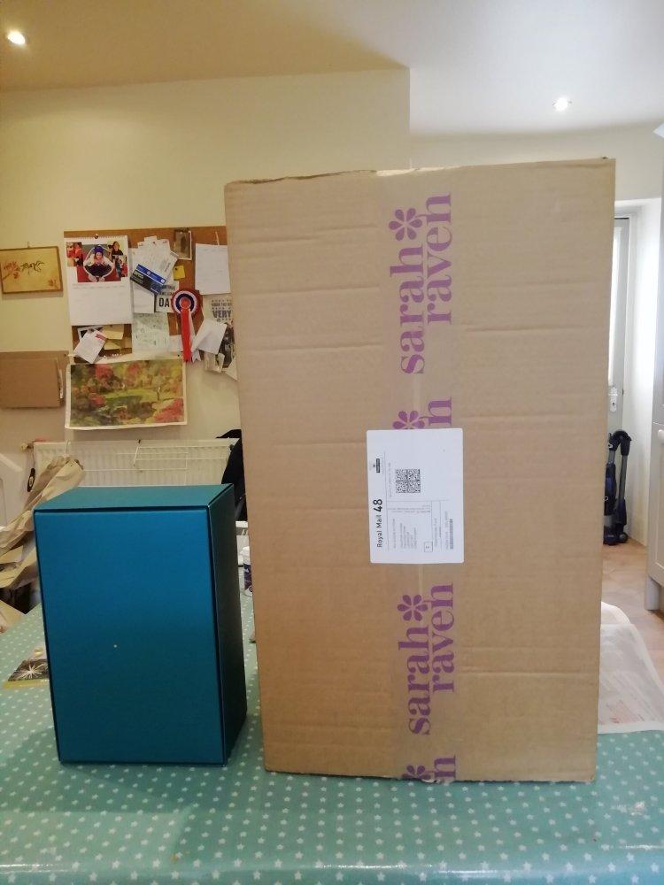 big parcel small contents