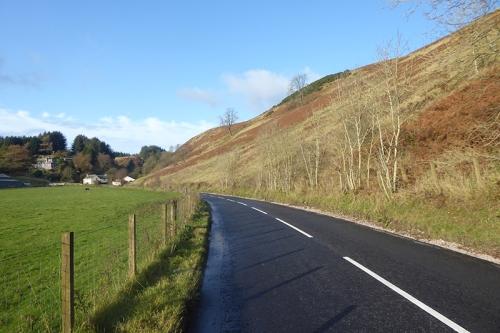 new road near quarry