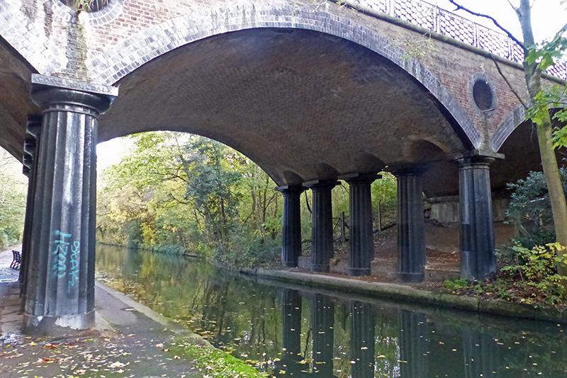 regent's canal bridge