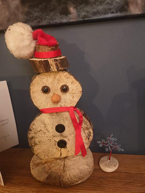 Ant's snowman
