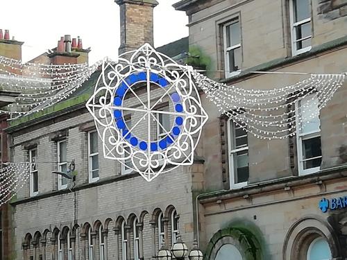 Bank street decoration