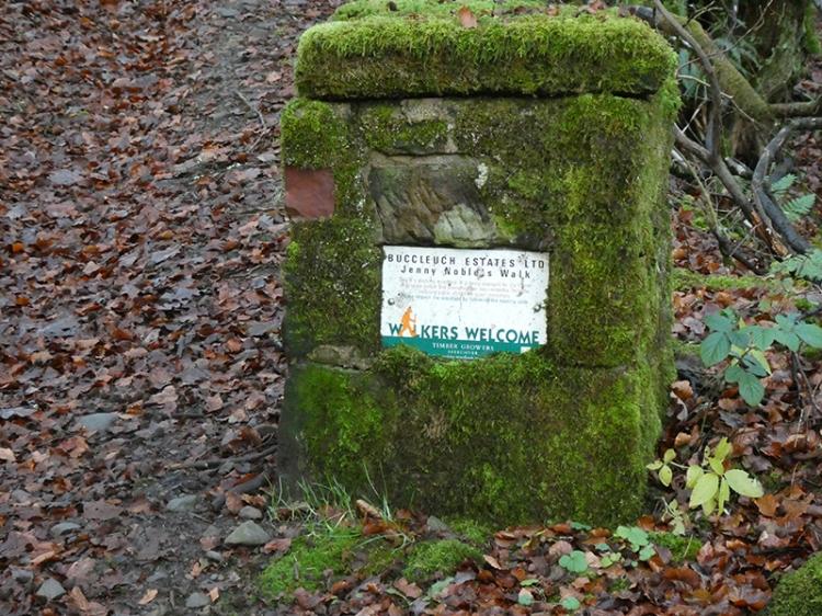 Buccleuich walking cairn