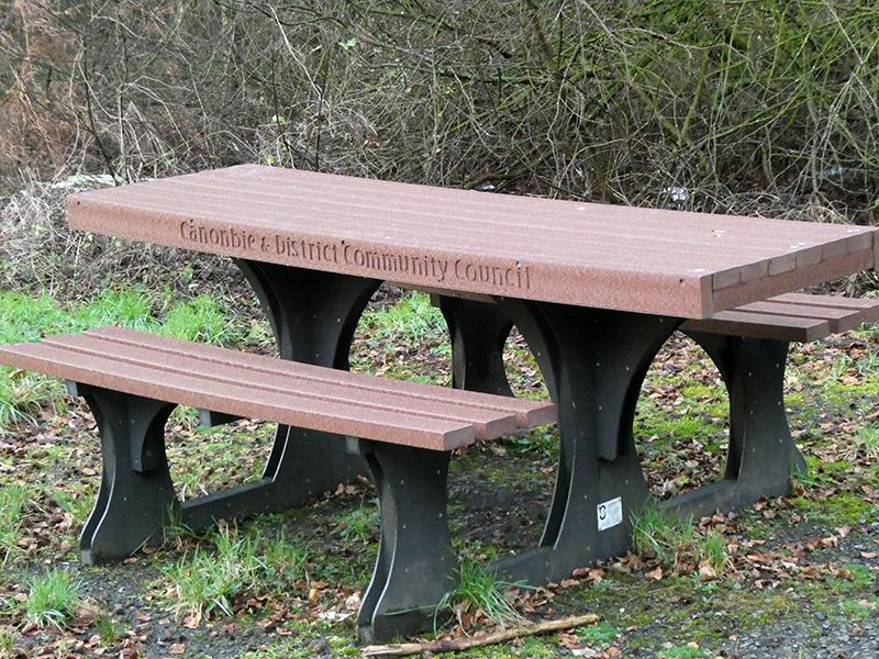 Canonbie bench