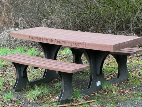 Canonbie bench