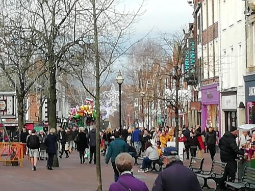 Carlisle Christmas crowd